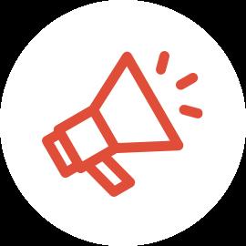icone de mégaphone