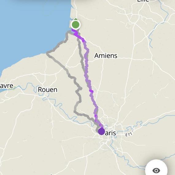 Baie de Somme-Paris à Vélo en 3 jours